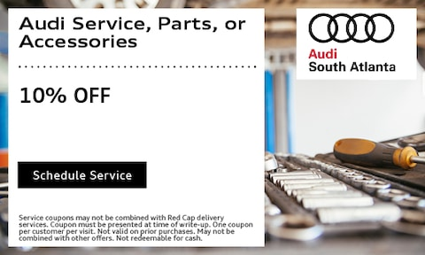 10% OFF Audi Service, Parts Or Accessories