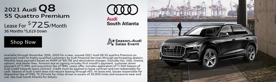 2021 Audi Q8 November Special