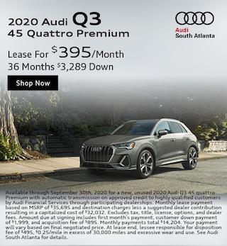 2020 Audi Q3 September Special