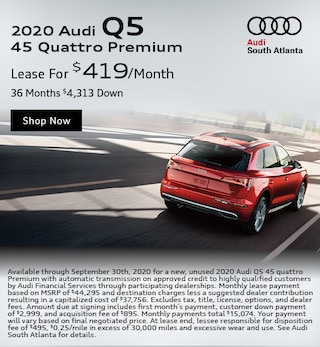 2020 Audi Q5 September Special