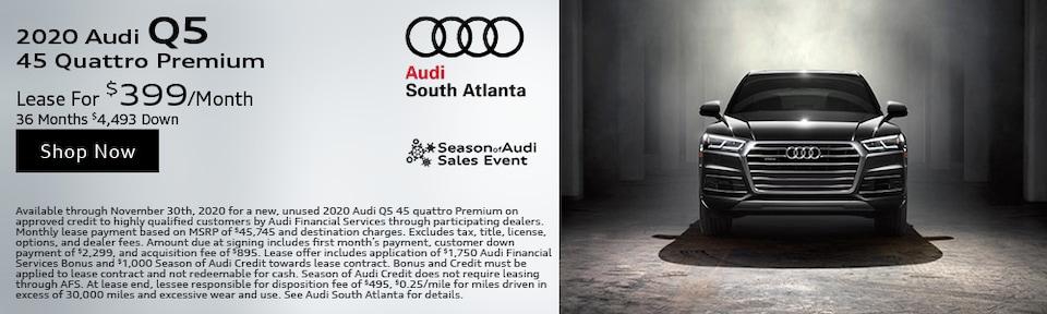 2020 Audi Q5 November Special