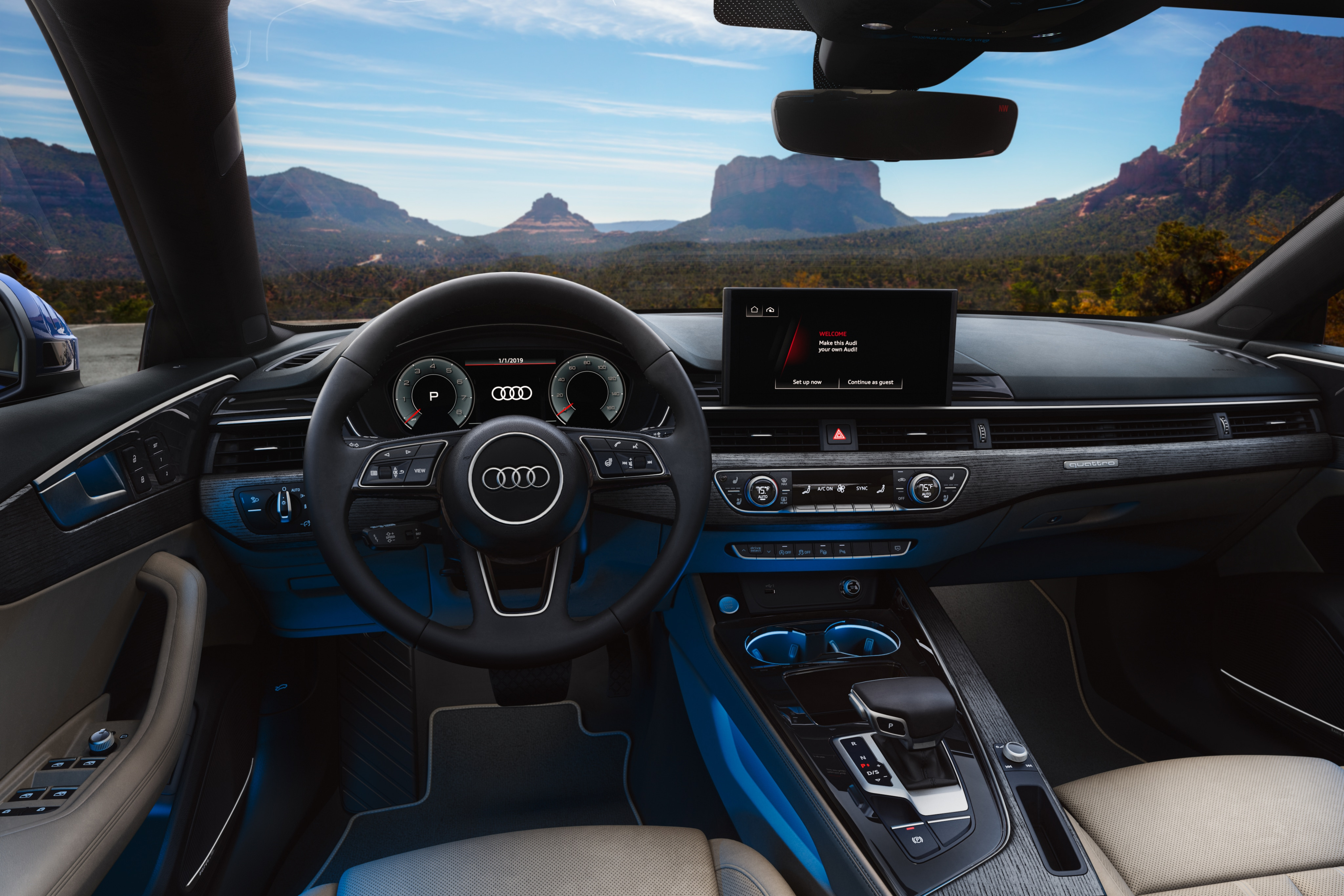 2020 Audi A5 Sportback Front Seat