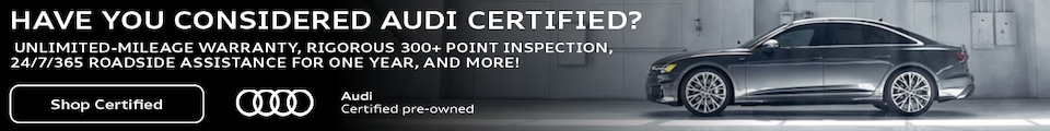 Audi Certified