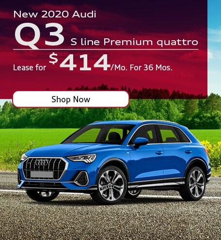 New 2020 Audi Q3