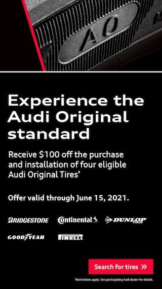 Experience The Audi Original Standard