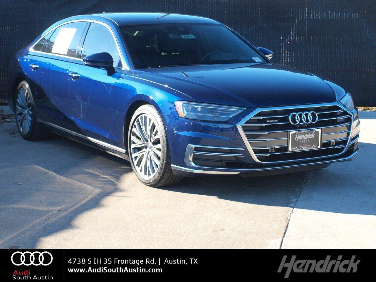 2019 Audi A8 4DR SDN 3.0 TFSI Sedan