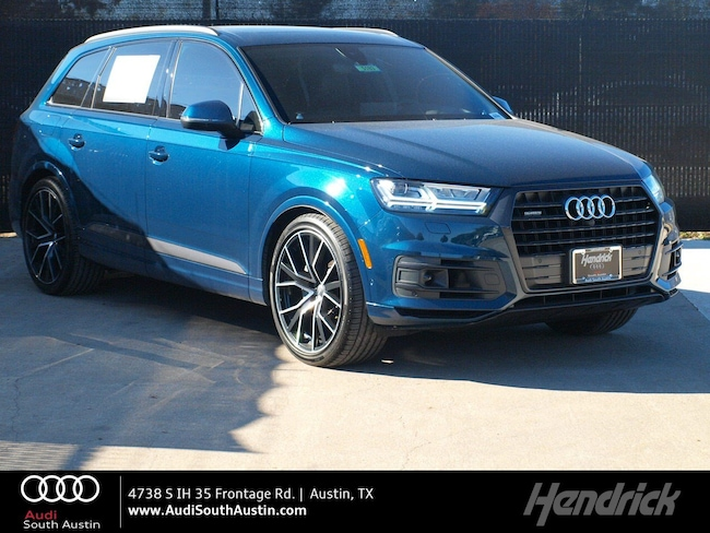 New 2019 Audi Q7 Prestige Austin D5183
