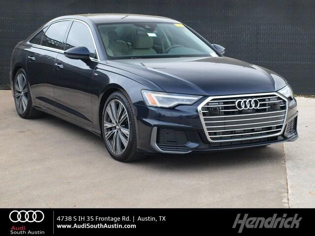 2019 Audi A6 Premium Plus Sedan Austin