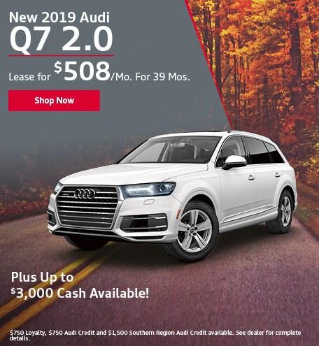 New 2019 Audi Q7