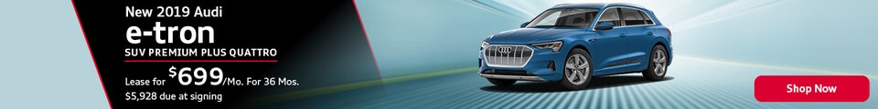 New 2019 Audi e-Tron