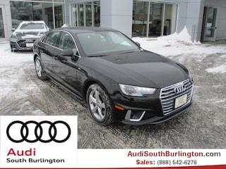 New 2019 Audi A4 2.0T Premium Sedan Burlington Vermont