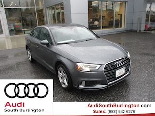 New 2018 Audi A3 2.0T Premium Sedan Burlington Vermont