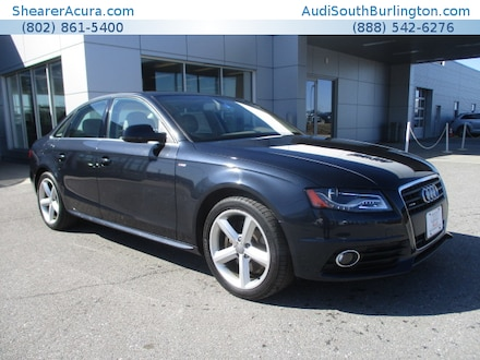 Featured pre-owned 2012 Audi A4 2.0T Premium Plus  Sedan for sale near Burlington Vermont