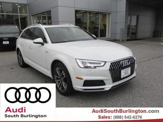 New 2018 Audi A4 allroad 2.0T Premium Plus Wagon  Burlington Vermont