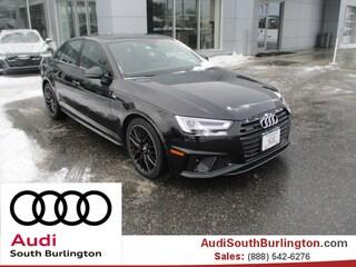 New 2019 Audi A4 2.0T Premium Plus Sedan Burlington Vermont