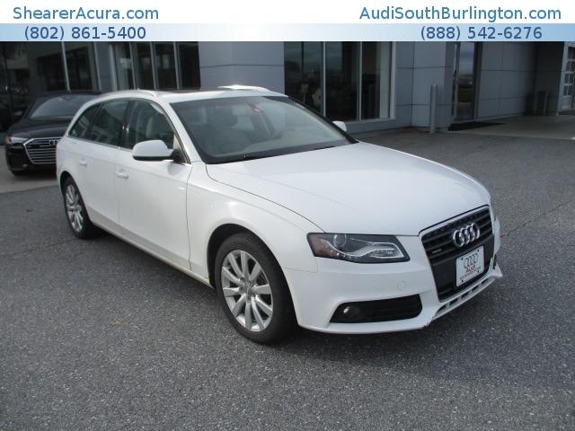 Used 2011 Audi A4 2.0T Premium Avant Burlington Vermont