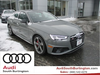 New 2019 Audi S4 3.0T Premium Plus Sedan Burlington Vermont