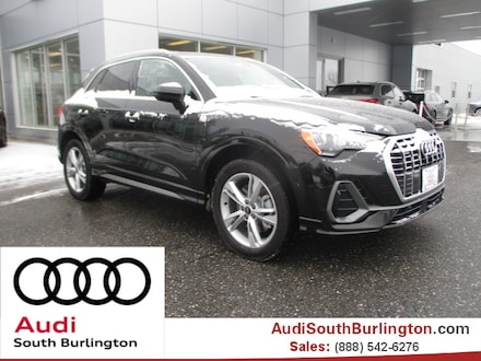 Featured new 2021 Audi Q3 45 S line Premium SUV for sale in South Burlington, VT