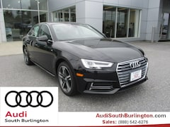 New 2018 Audi A4 2.0T Tech Premium Sedan  Burlington Vermont