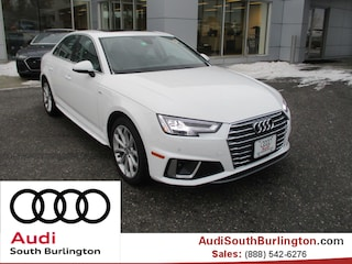 New 2019 Audi A4 2.0T Premium Plus Sedan Burlington Vermont