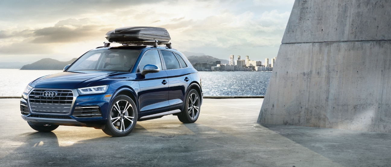 2019 audi q5 blue metallic