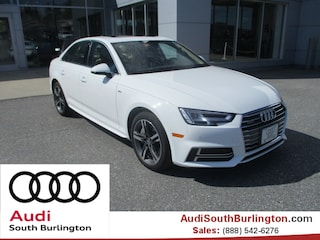 New 2018 Audi A4 2.0T Tech Premium Sedan Burlington Vermont