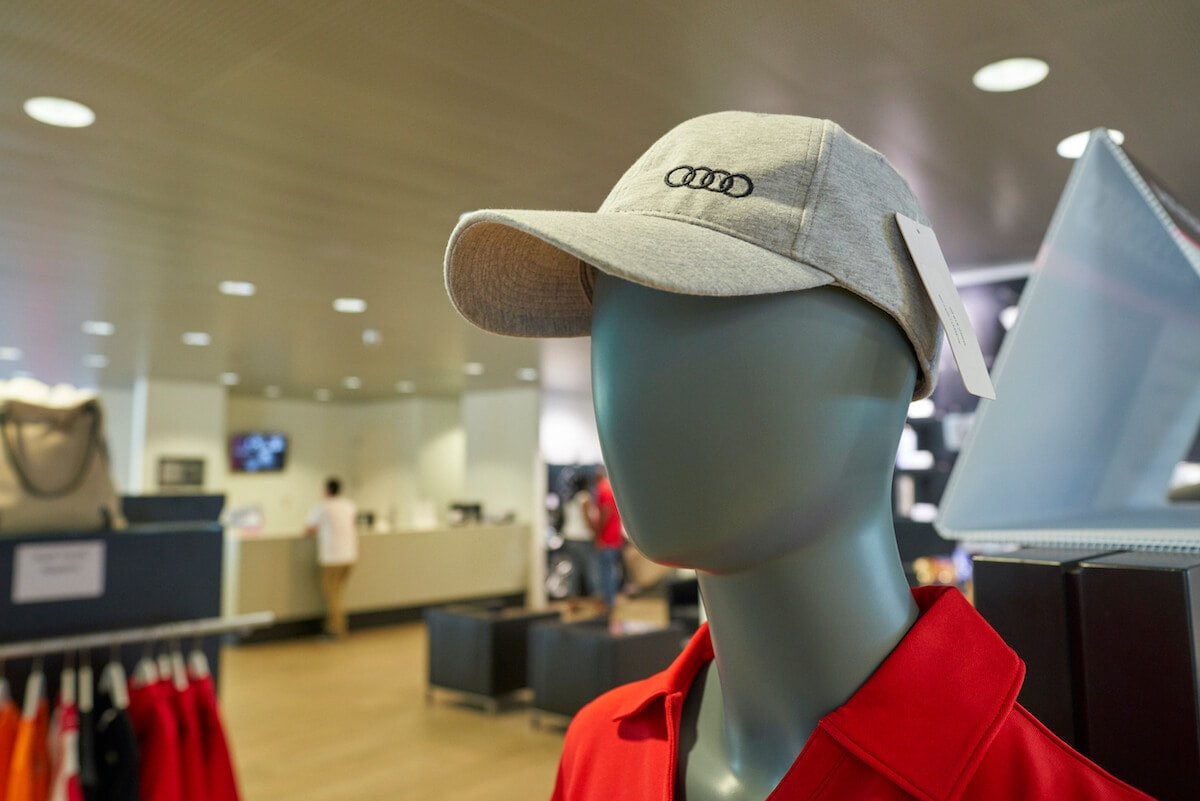 Audi hats for sale at Audi South Orlando