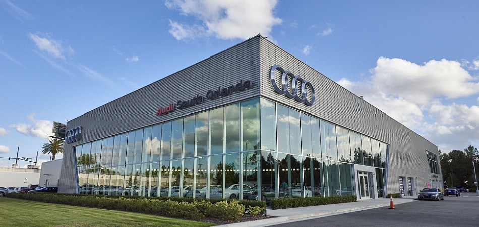 Exterior view of Audi Serving Winter Park