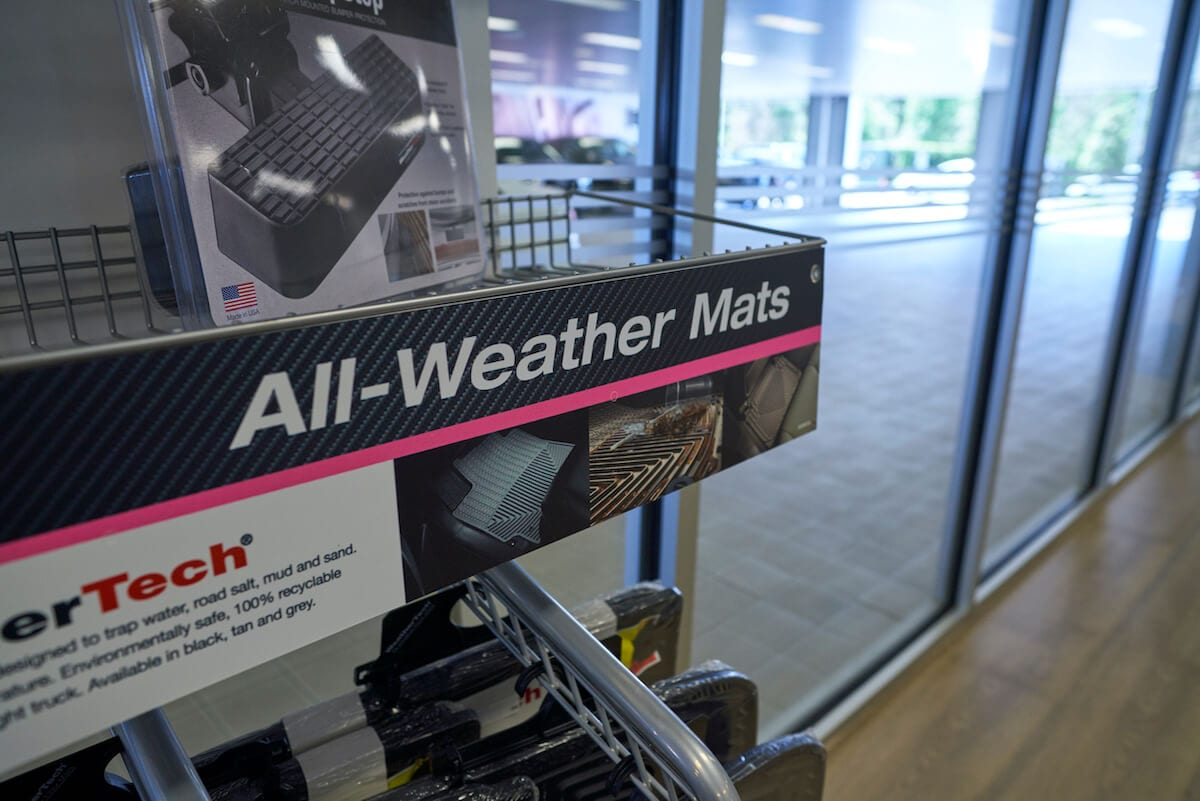 WeatherTech all-weather mats and accessories at Audi South Orlando
