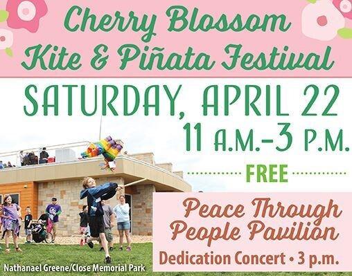 springfield festivals cherry blossom kite and pinata festival