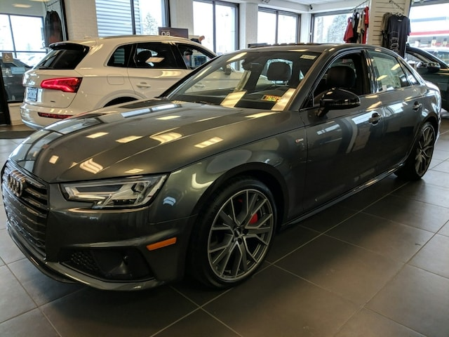 New 2019 Audi A4 2.0T Prestige Sedan for sale in State College, PA, at Audi State College