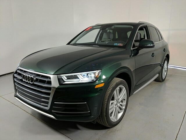 Certified Pre-Owned 2018 Audi Q5 2.0T SUV for Sale near St. Marys, PA, at Audi State College