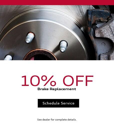 2019 - July Brake Special