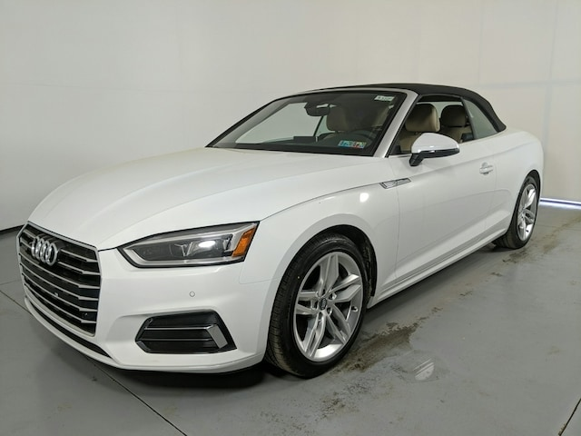 New 2019 Audi A5 2.0T Premium Plus Convertible for sale in State College, PA, at Audi State College