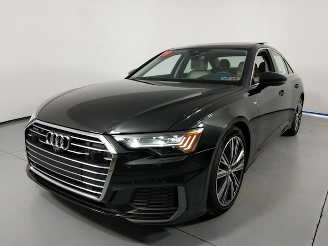 Certified Pre-Owned 2019 Audi A6 3.0 Sedan for Sale near St. Marys, PA, at Audi State College