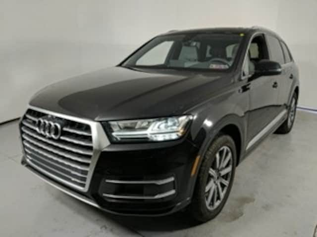 Certified Pre-Owned 2018 Audi Q7 2.0T Premium SUV for Sale near St. Marys, PA, at Audi State College