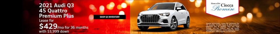2021 Audi Q3 45 Quattro Premium Plus