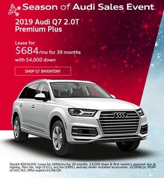 December 2019 Audi Q7 2.0T Premium Plus