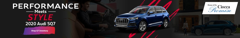 Performance Meets Style 2020 Audi SQ7