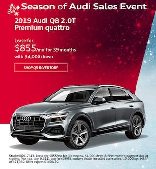 December 2019 Audi Q8 2.0T Premium quattro