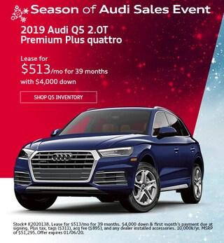 December 2019 Audi Q5 2.0T Premium Plus quattro