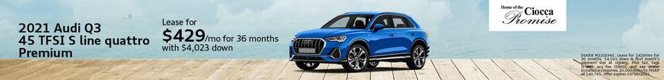 2021 Audi Q3 45 TSI S Line Quattro Premium
