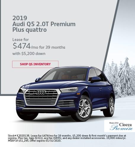2019 Audi Q5 2.0T Premium Plus quattro