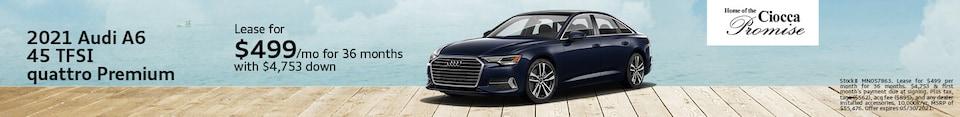 2021 Audi A6 45 TFSI Quattro Premium