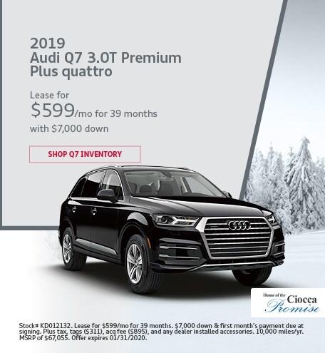 2019 Audi Q7 3.0T Premium Plus quattro