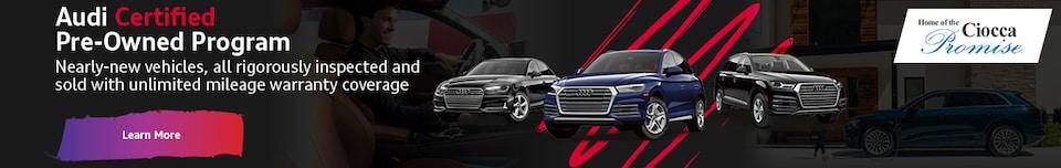 Audi Certified Pre-Owned Program