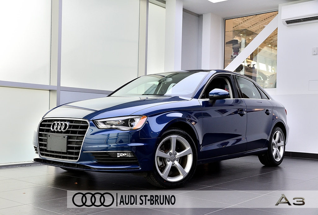 2015 Audi A3 1.8 TFSI KOMFORT+STYLING PACKAGE Berline