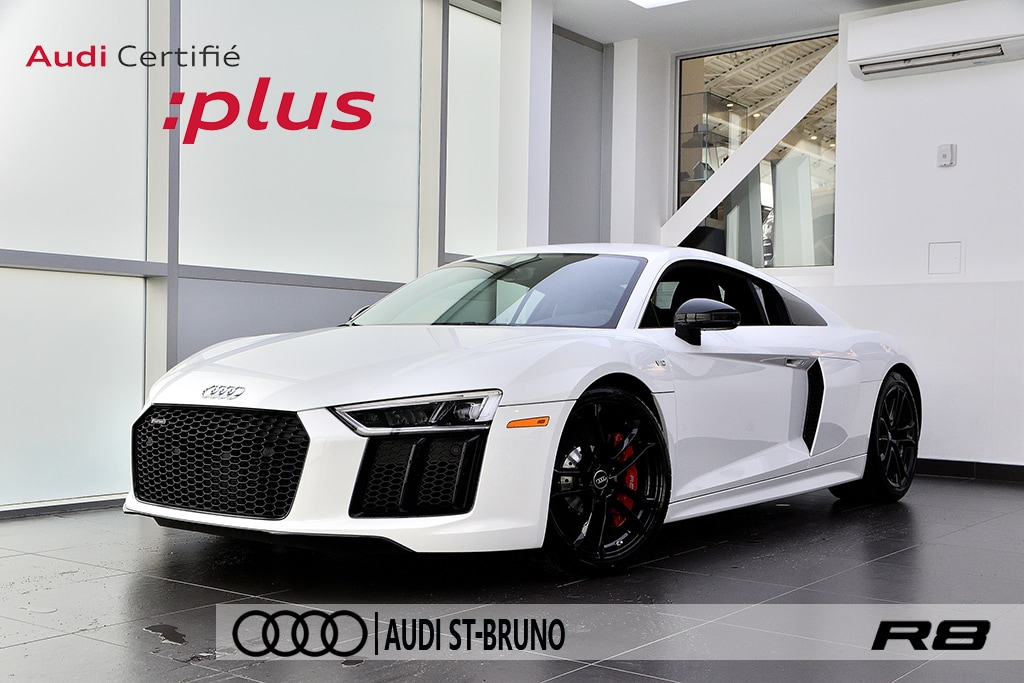 2018 Audi R8 V10 + AUDI CARE + CERTIFIÉ INCLUS + PROTEX Coupe
