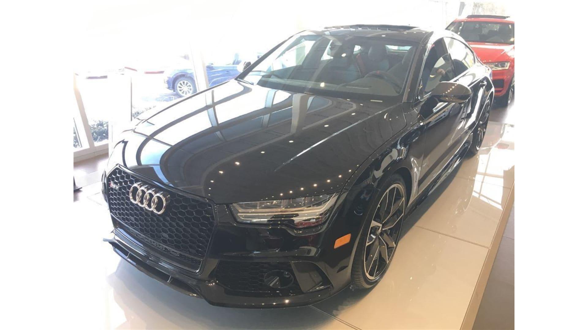 2018 Audi RS 7 4.0T Performance Quattro 8sp Tiptronic Sportback