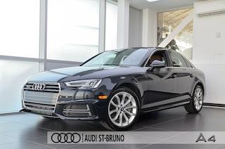 2018 Audi A4 2.0 TFSI QUATTRO PROGRESSIV CERTIFICATION INCLUS Berline